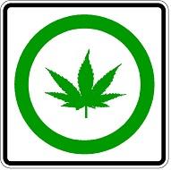 Legal Marijuana symbol