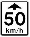 Canadian Advance Speed Limit Warning