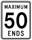 Canadian Speed Limit Ends
