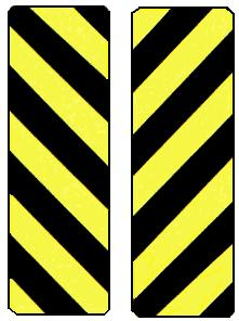 Object Marker symbol Black/Yellow