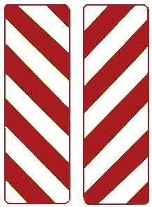 Object Marker symbol Red/White