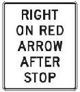 Right on Red Arrow After Stop