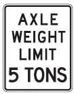 Axle Weight Limit