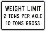 Weight Limit Per Axle