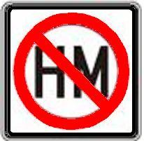 Hazardous Materials Prohibited