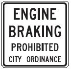 Nebraska Engine Brake Prohibition