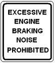 Excessive Engine Braking Noise Prohibited