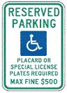 Hawaii Handicap Parking symbol