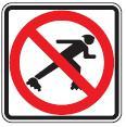 No Skating symbol