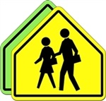 S1-1 School Crossing symbol