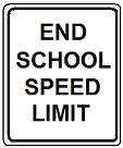 End School Speed Limit