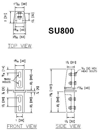 SU800 - Detail