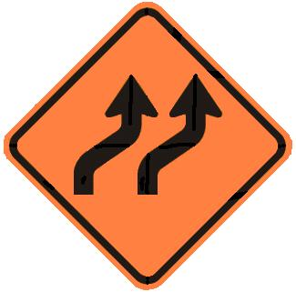 Two-Lane Reverse Curve