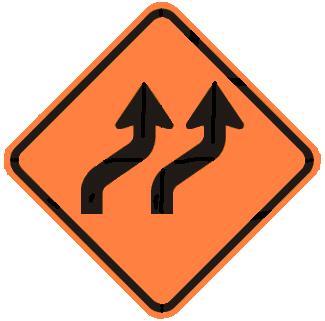 Two-Lane Reverse Curve