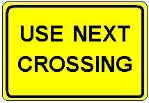 Use Next Crossing plate