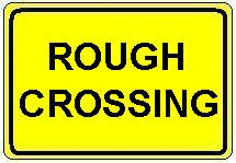 Rough Crossing plate