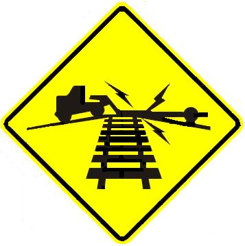 Low Ground Clearance Rail Crossing
