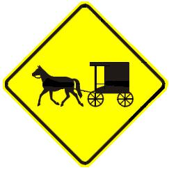 Horse & Buggy Traffic