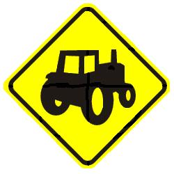 Farm Machinery Crossing - New