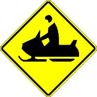 Snowmobile Crossing