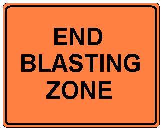 End Blasting Zone