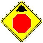 Stop Ahead symbol
