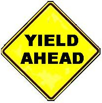 Yield Ahead symbol