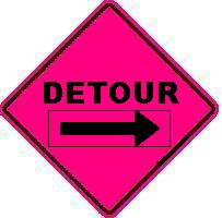 DETOUR with Arrow Overlay