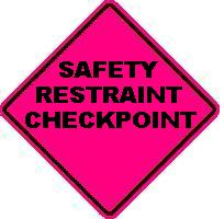 SAFETY RESTRAINT CHECKPOINT