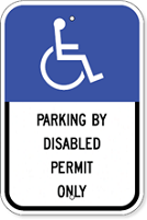 Florida Handicap Sign