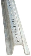 Galvanized U-Channel Delineator Post, 1.12 lb/ft