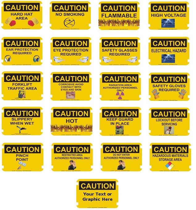 OSHA Photo Caution - Group