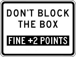 Don't Block the Box - Pennsylvania