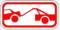Tow-Away Zone symbol