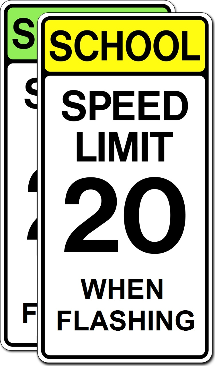 School Speed Limit When Flashing